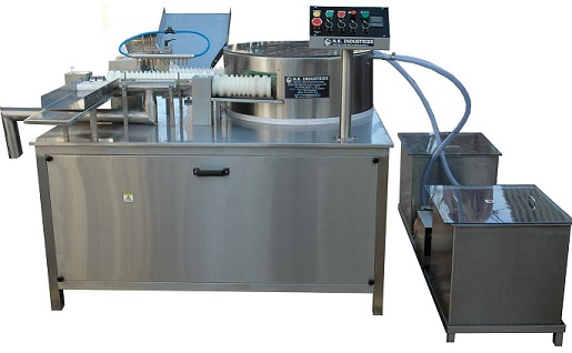 Manufacturer of High Speed Rotary External Ampoule Washing Machine